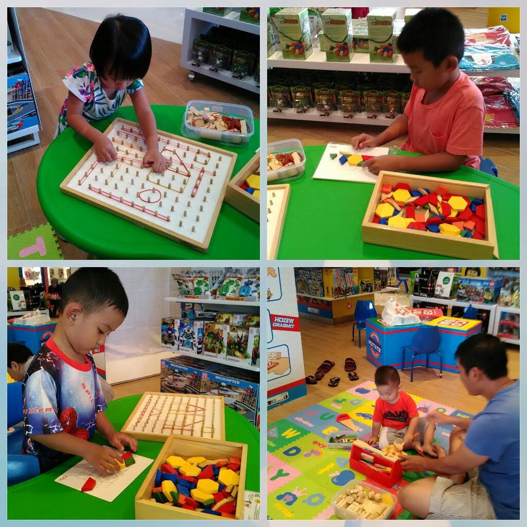 Cara Bijak Memilih Mainan Anak Metode Sentra