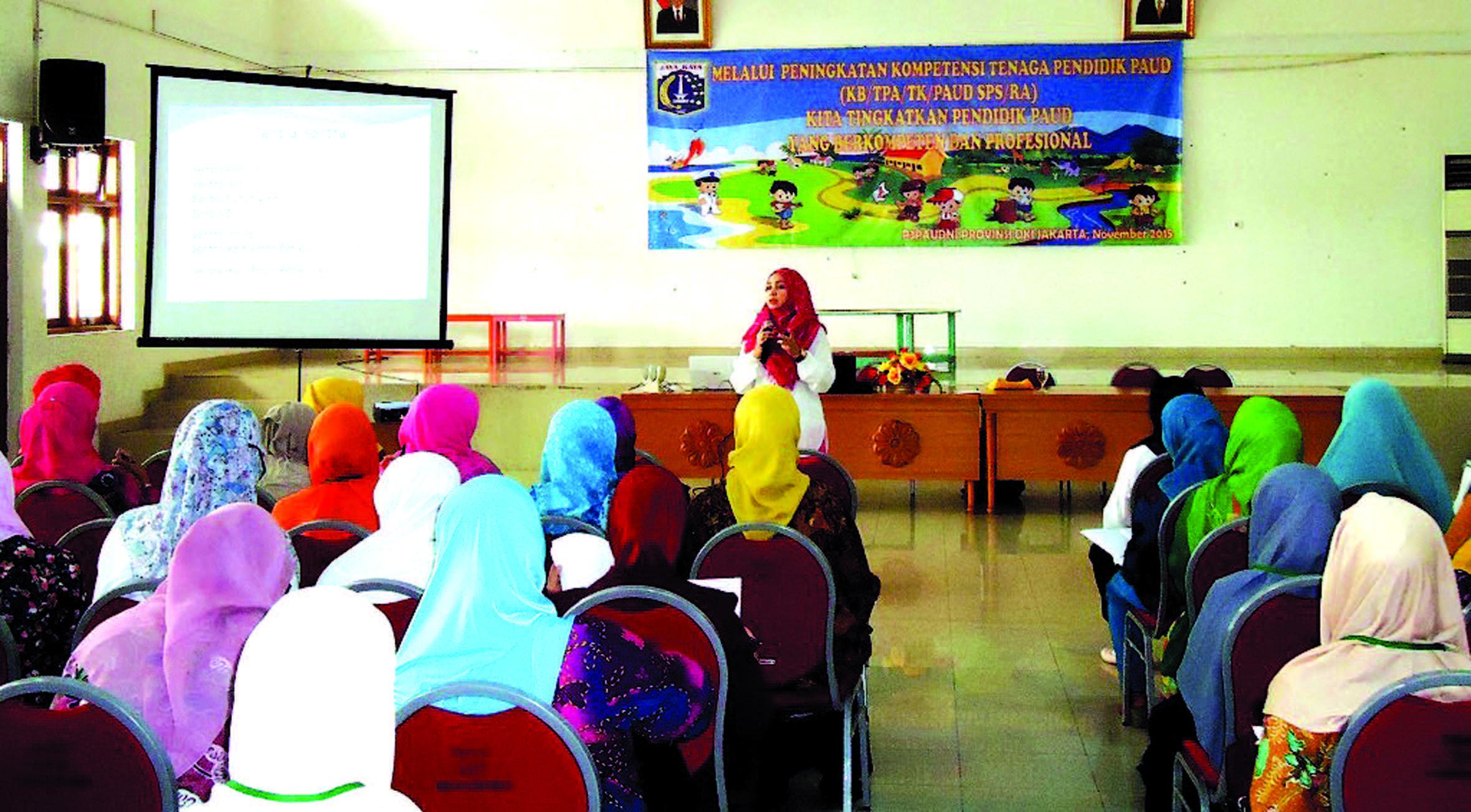 Sekolah Batutis Al-Ilmi dipercaya oleh Pemerintah Daerah DKI Jakarta untuk menjadi fasilitator Pelatihan Metode Sentra bagi para guru di kelima wilayah DKI.